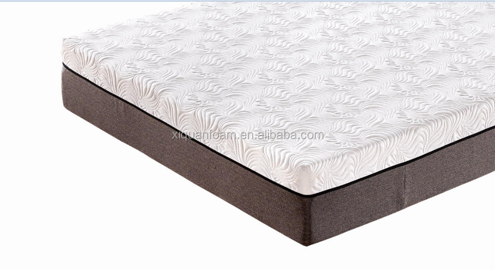 CFR1633 home furniture 12 inch queen size compress roll memory foam mattress in a box