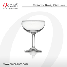 Large Champagne coupe - fancy glassware, champagne glass