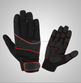 Mechanic Work Gloves With Reflector