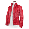 Hot Sale New Fashion And Style Women Jacket Red Leather Jacket For Women