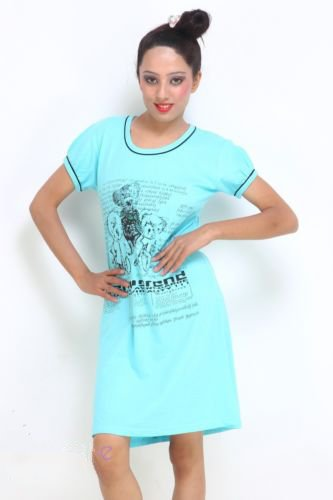 New Women Nightwear Designer Cotton Short Nighty and sleepwear