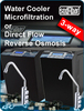 3-way undercounter cooler for ambient water + cold + sparkling cold 25Lt./h. Instant cooling