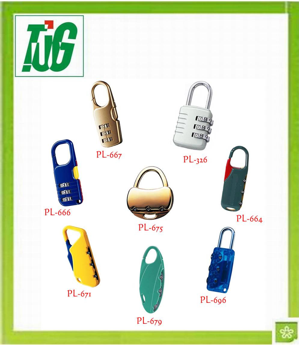 Pad combination Lock for safety