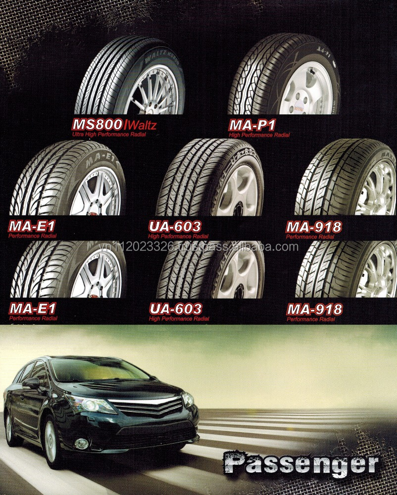 Best Quality Best Price Maxxis Tire Made in Thailand 205R16C MA751 Bravo Pattern 8 Ply Rating Tubeless Light Truck LTR 4x4