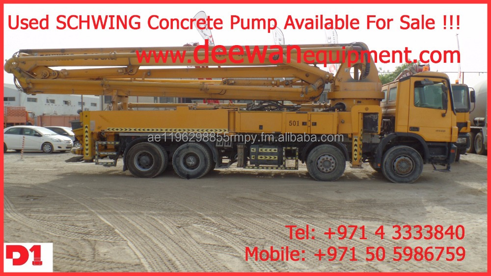 SCHWING Concrete Pumps