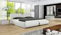 upholstered bed furniture ROUND