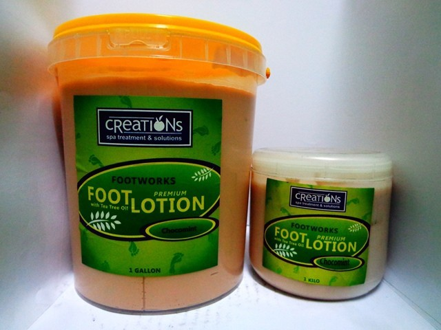 Foot Lotion, Foot Spa Supplies Philippines