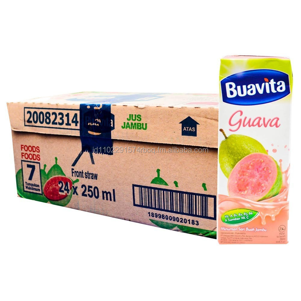 Buavita Guava Juice 250ml x 24 Pcs
