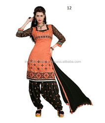 Printed Ladies Punjabi Salwar Suits