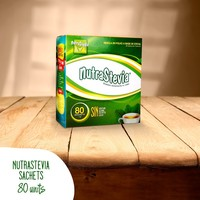 Stevia Sweetener extract Sachets / 80 units