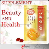 High quality beta carotene food color placenta supplement for woman , OEM available