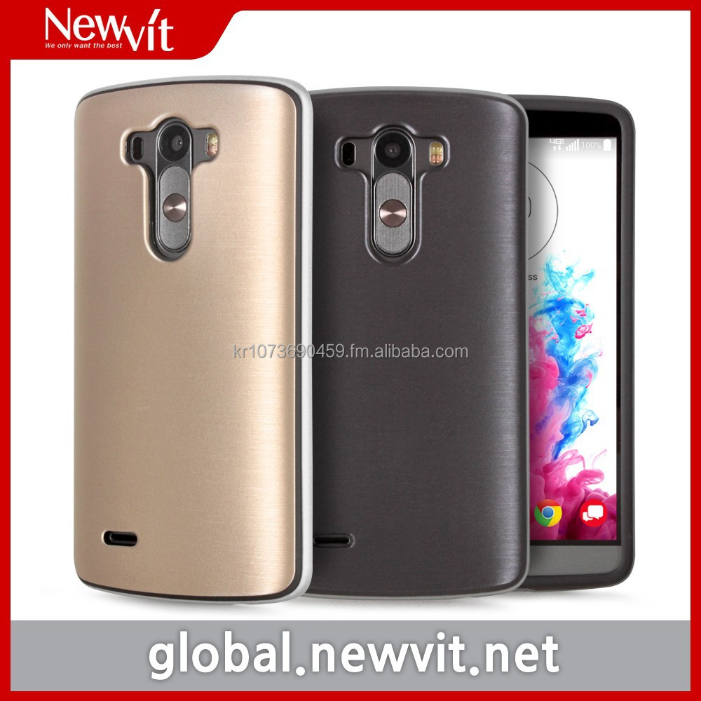 Newvit Style Bumper 2 case for G3 / mobile phone case / Combined TPU with synthetic leather for flexibility and soft feeling