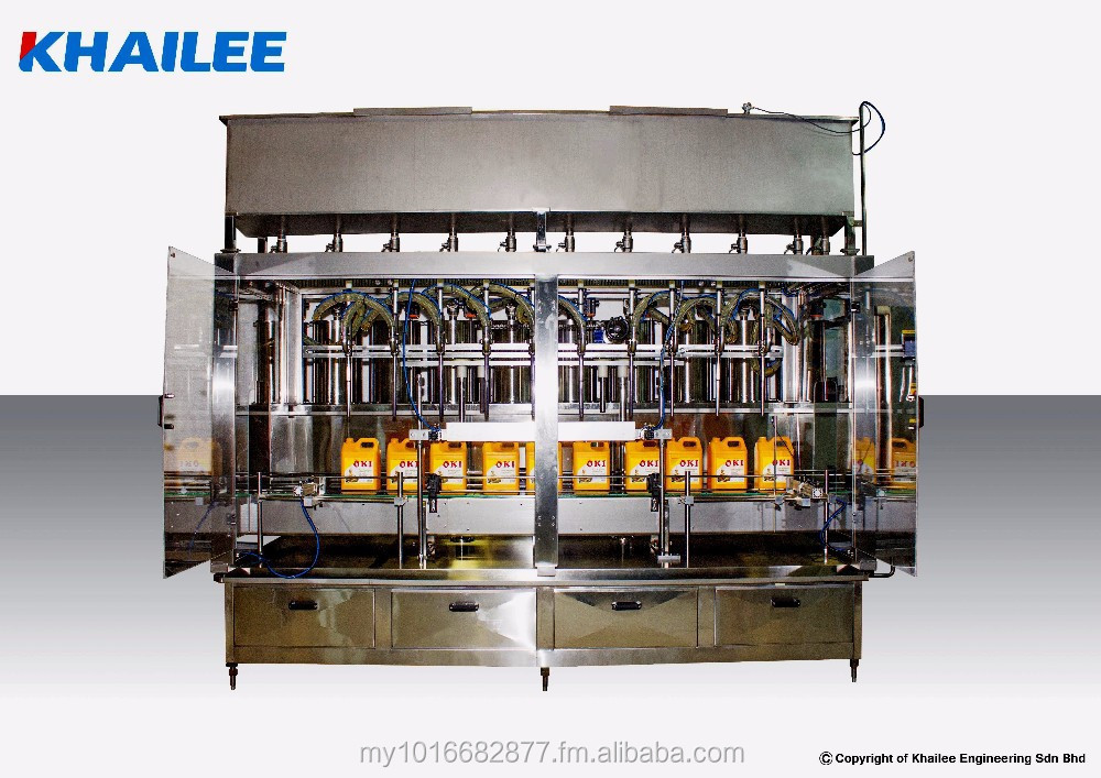 Edible Oil - Automatic In-Line Piston Filling Machine