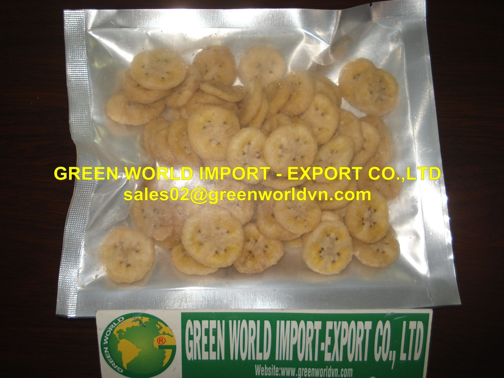 TROPICAL DRIED BANANA - HIGH QUALITY - THE MOST ATTRACTIVE PRICE FOR EXPORT