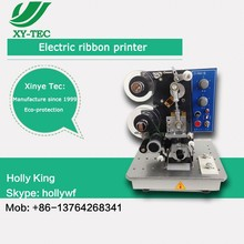 Semi-Auto coding machine, with petal, auto, manual function from xinye tec, manufacture since 1999