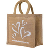 TS050,Free Shipping,MOQ 100pcs, Mini jute bags wholesale,22x21x20cm,Custom Accept