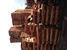 Acasia wood/rubber wood/Pine wood timber for pallet