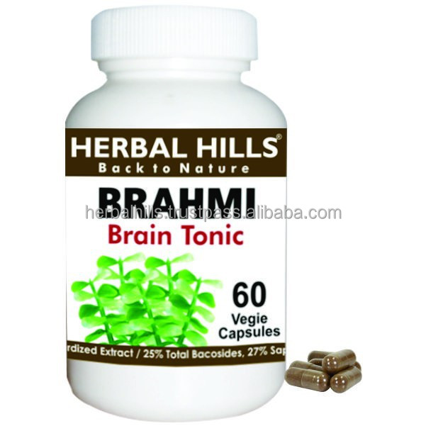 Brahmi / bacopa monnieri veg capsules for Brain power boosting herbal supplement