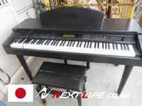Easy to use music keyboard instrument used music instrument for recycle shop suitable to open recycle shop