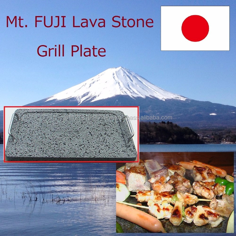 Easy to use and High mineral lava stone plate , steak on the rock for tender finish ,various size available
