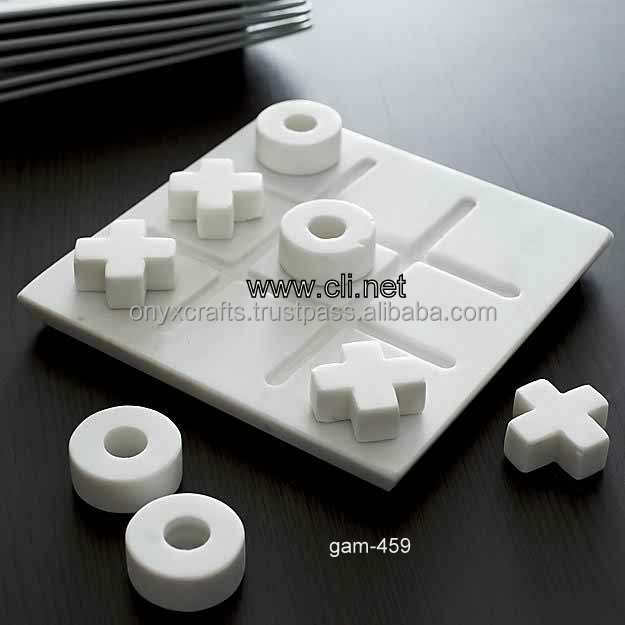 Cheap Marble Tic Tac ToA Game in Wholesale
