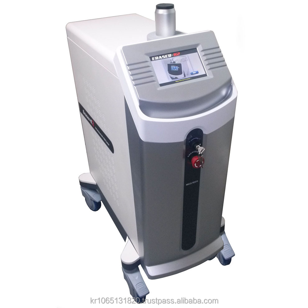 Q Sw Nd Yag laser for pigment, tattoo removal and skin rejuvenation