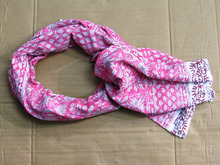 100% Reversible Scarf Indian Soft Girls cotton Wear Neck Wrap Shawl wholesaler from india