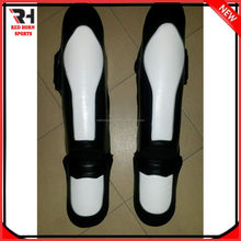 Professional MMA Shin Guards, Leather Shin Guards Fighting