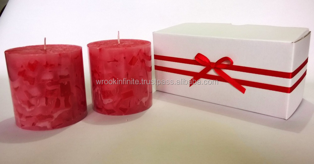 Candle Gift Set Strawberry Fragrance