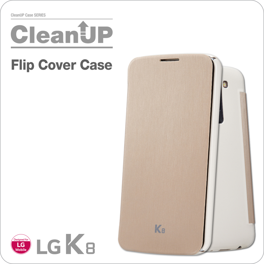 VOIA for LG K8 CleanUP Flip Cover