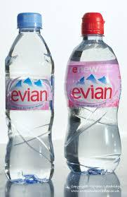 Evian Mineral Waters and Volvic Mineral Waters