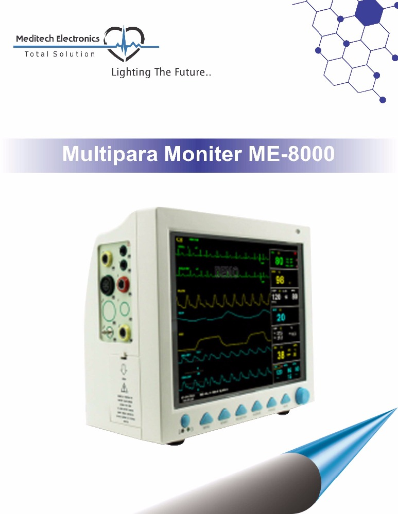 High Quality Hospital Multi Parameter Patient Monitor With CE ISO