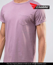 Factory bulk wholesale 100% cotton round neck blank men t shirt