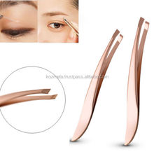 New 2016 Hot selling Stainless Steel Hair Removal Eyebrow Tweezers Cosmetic Beauty Makeup Tools