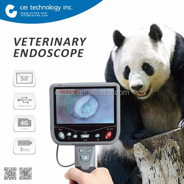 Портативный Видео Эндоскоп Ветеринарной Инструмента