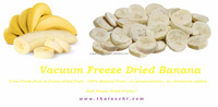 BEST SELLING VACUUM FREEZE DRY HOM BANANA- DRIED BANANA SNACK FROM THAILAND