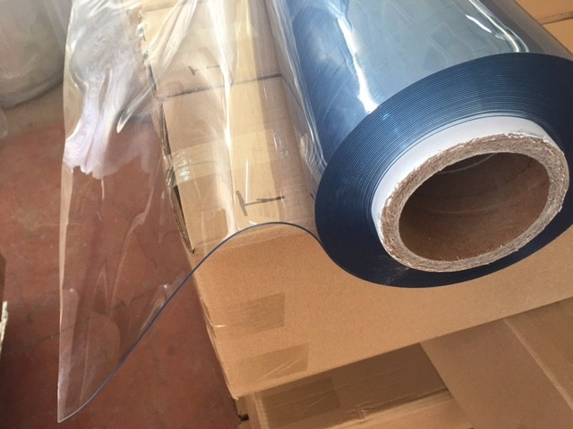 transparent super clear soft pvc sheet