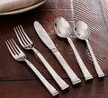 Brass Silver Plated Flatware | Cutlery 5 Pieces Set