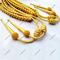 Bullion Wire & Mylar Wire Aiguillettes | Military Aiguillette | Bullion Wire Aiguillette