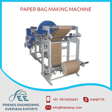 Robust Structure/ Energy Efficient Result Oriented Standard Kraft Paper Bag Making Machine