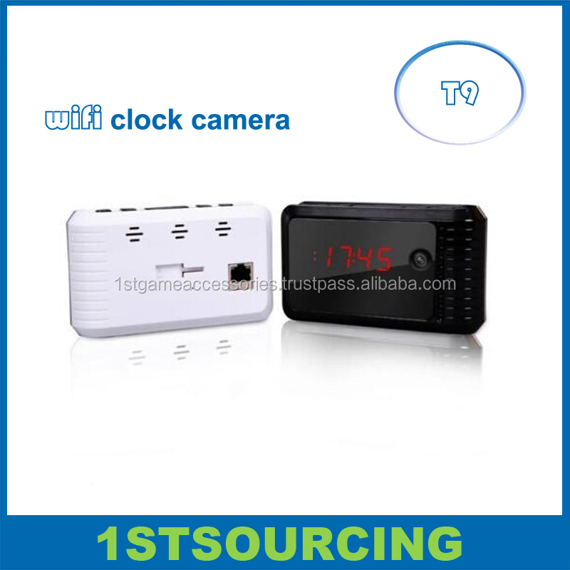 HD 720P Wireless Hidden Clock Camera Wifi Wall Clock Camera Video Recorder