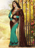 Saree wholesaler in kolkata - Lehenga cum saree - New border design saree Ertyu