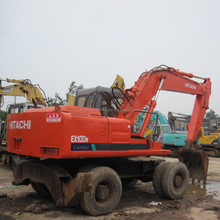 Japan Hitachi wheel excavator ex100wd,used Hitachi ex 100 excavator,Cheap wheel excavator