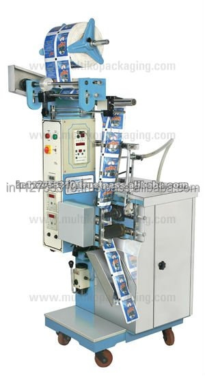 Fully Automatic Vertical Form Fill Seal Machine with piston filler for packing free flowing liquids