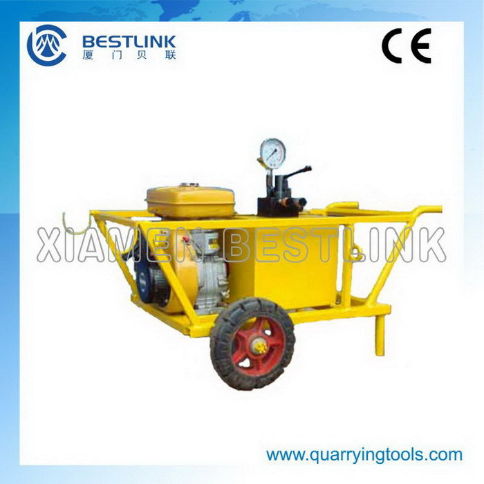 Durable Hydraulic Hard Rock Splitter For Mining