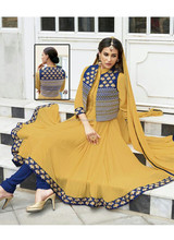 party wear georgette special salwar kameez\indian fashionable salwar suit\kurta designs for women