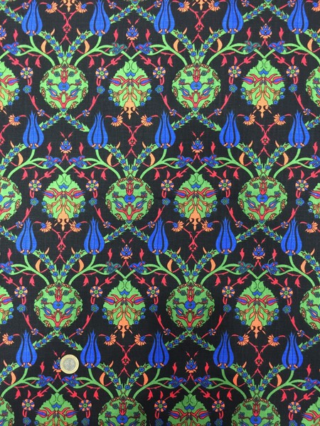 %100 TURKISH OTTOMAN CHINA & TULIP DESIGNED FABRICS