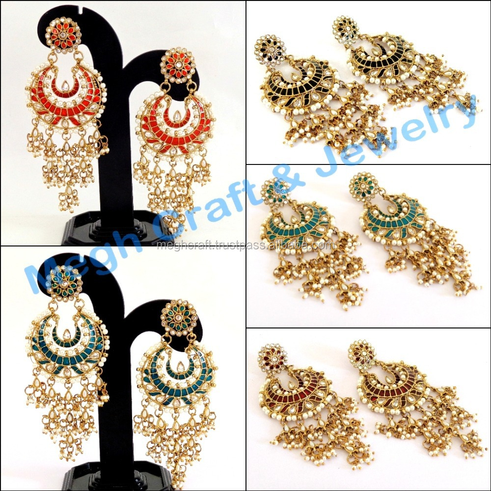 Oversized Chandelier Earrings TopEarrings – Oversized Chandelier Earrings