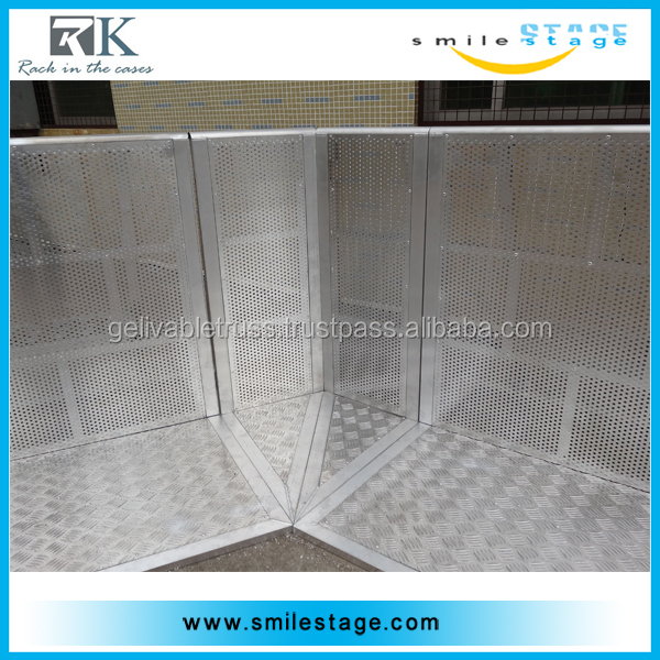 Top selling wind barrier expandable barrier