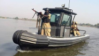 Rigid Inflatable Boat for Rivers - Model RIB 8.0 MILITARY RIVERINE - Made in the UAE